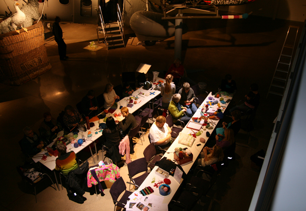 Workshop p Flygvapenmuseum