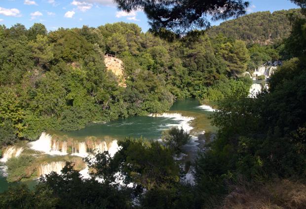 Vattenfall i Krka