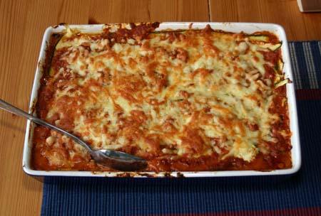Squash-lasagne