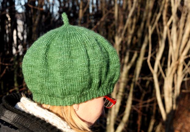 Gräsgrön basker