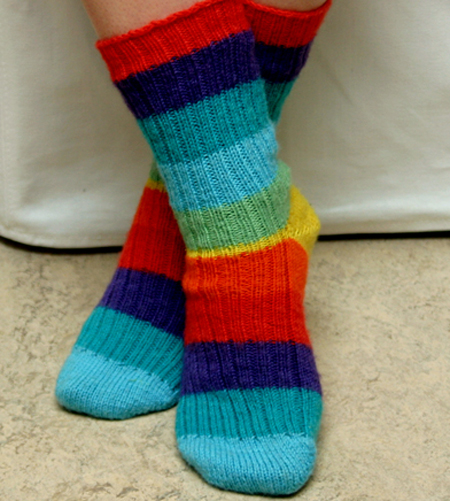 Multicolored Regia socks