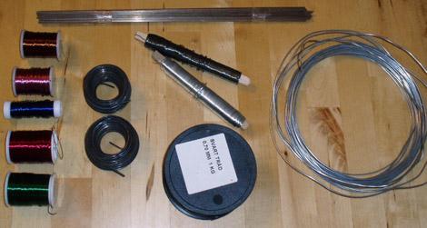 Trådslöjdsmaterial